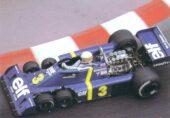 Tyrrell P34 driven by Jodi Schecktert in Monaco (1976)