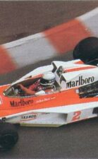 McLaren M26D driven by Jochen Mass in Monaco 1977