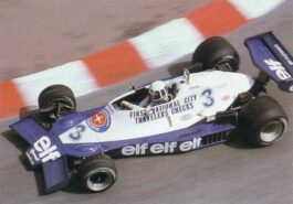 Tyrrell 008 driven by Didier Pironi at Monaco (1978)