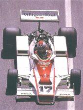 Shadow DN9 Ford driven by Clay Regazzoni at Monaco (1978)