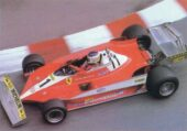 Ferrari 312T3 driven by Carlos Reutemann in Monaco (1978)