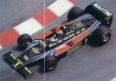 Lotus 80 driven by Mario Andretti in Monaco (1979)