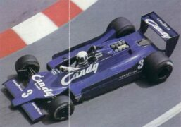 Tyrrell 009 driven Didier Pironi at Monaco (1979)