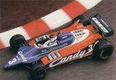 Tyrrell 010 driven by Jean-Pierre Jarier at Monaco (1980)