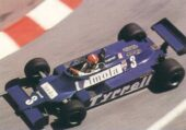 Tyrell 011 driven by Eddie Cheever at Monaco (1981)
