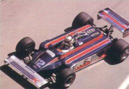 Lotus 87 driven by Nigel Mansell in Monaco (1981)