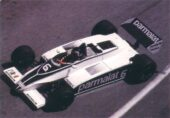 Brabham BT49C driven by Hector Rebaque at Monaco (1981)