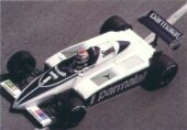 Brabham BT49D driven by Nelson Piquet at Monaco (1982)