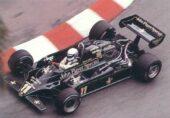 Lotus 91 driven by Elio de Angelis in Monaco (1982)