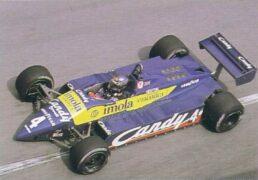Tyrrell 012 driven by Brian Henton at Monaco (1982)