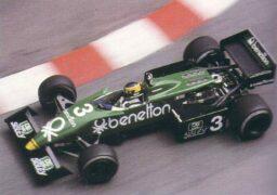 Tyrrell 013 driven by Michele Alboreto in Monaco (1983)
