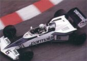 Brabham-BMW BT52 driven by Ricardo Patrese at Monaco (1983)
