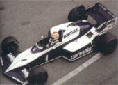 Brabham BT53 BMW driven by Nelson Piquet at Monaco (1984)