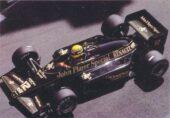 Lotus 97T driven by Ayrton Senna in Monaco (1985)