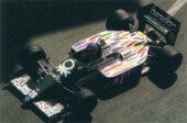 Benetton B186 BMW driven by Gerhard Berger in Monaco (1986)