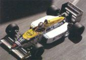 Williams FW11 Honda driven by Nigel Mansell in Monaco (1986)