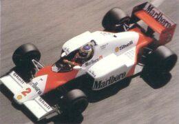 McLaren MP4-2C Porsche driven by Keke Rosberg in Monaco (1986)