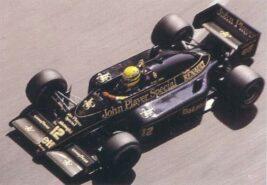 Lotus 98T driven by Ayrton Senna in Monaco (1986)