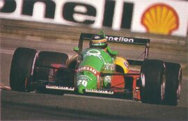 Massive crash Mexico GP 1988 Philippe Aliot