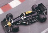Tyrrell 017 driven by Julian