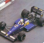 Rial ARC01 Cosworth Andrea de Cesaris at Monaco (1988)