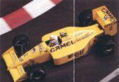 Lotus 100T driven by Satoru Nakajima in Monaco (1988)