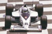 Brabham BT58 driven by Stefano Modena at Monaco (1989)