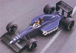 Tyrrell 017B driven by Michele Alboreto at Monaco (1989)