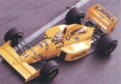 Lotus 101 driven by Nelson Piquet at Monaco (1989)