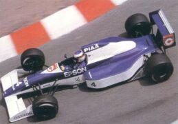 Tyrrell 019 driven by Jean Alesi at Monaco (1990)