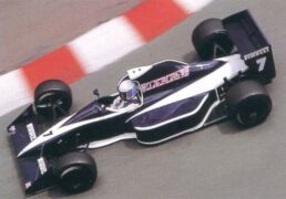 Brabham BT59 driven by David Brabham at Monaco (1990)