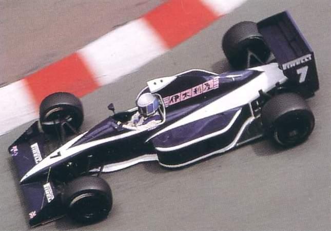 Brabham BT59 driven by David Brabham at Monaco (1990)