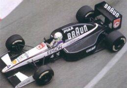 Tyrrell 020 driven by Stefano Modena at Monaco (1991)