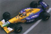 Benetton B191 Ford driven by Nelson Piquet at Monaco (1991)