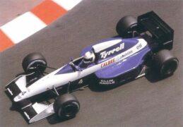 Tyrrell 020B Andrea de Cesaris at Monaco (1992)