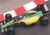 Lotus 102D driven by Mika Hakkonen in Monaco (1992)