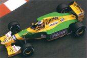 Benetton B192 Ford driven Michael Schumacher in Monaco (1992)