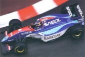 Thierry Boutsen driving the Jordan 193 Hart in Monaco (1993)