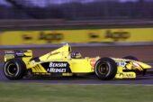 Damon Hill driving the Jordan Mugen-Honda EJ9 (1999)