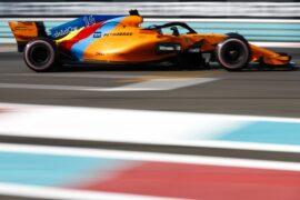 Yas Marina Circuit, Abu Dhabi, United Arab Emirates 2018 Fernando Alonso, McLaren MCL33.