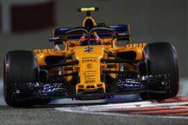 Yas Marina Circuit, Abu Dhabi, United Arab Emirates. Sunday 25 November 2018 Stoffel Vandoorne, McLaren MCL33.