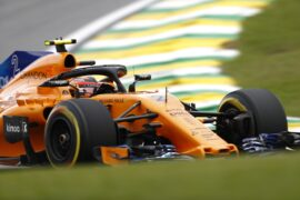 Interlagos, Sao Paulo, Brazil 2018. Stoffel Vandoorne, McLaren MCL33 Renault.
