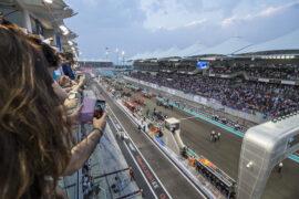 2018 Abu Dhabi GP starting grid
