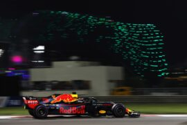 2018 Abu Dhabi GP Daniel Ricciardo Red Bull