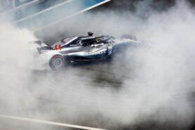 2018 Abu Dhabi GP winner Lewis Hamilton Mercedes