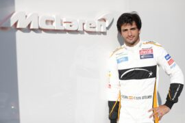 Carlos Sainz at McLaren