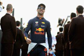 Daniel Ricciardo of Australia and Red Bull Racing walks to the drivers parade before the Abu Dhabi Formula One Grand Prix at Yas Marina Circuit on November 25, 2018 in Abu Dhabi, United Arab Emirates.