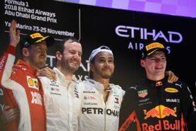 Hamilton: Verstappen 'in the fight' in 2019