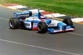 Benetton B197 driven by Jean Alesi (1997)