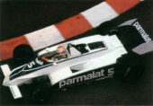 Brabham BT49 driven by Nelson Piquet at Monaco (1980)